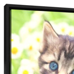 Thumbnail for 16x20 Framed Canvas (Black) with Full Photo design 4