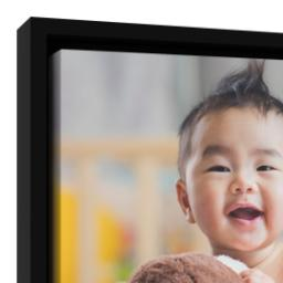 Thumbnail for 8x10 Framed Canvas (Black) with Full Photo design 4